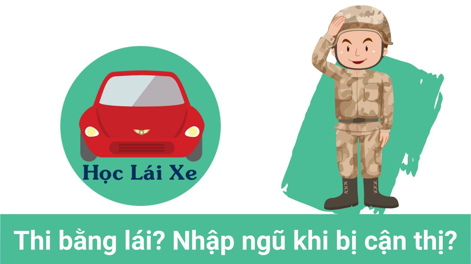 Bị Tật khúc xạ mắt có thi bằng lái xe được không? Có phải tham gia Nghĩa vụ Quân sự hay không?