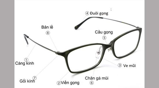 cấu tạo mắt kính