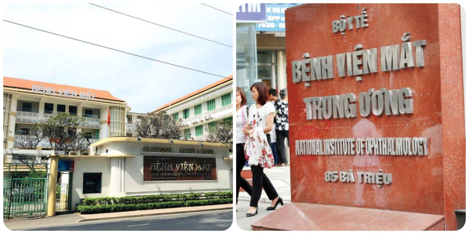 Bệnh viện chuyên khoa Mắt hàng đầu TPHCM và Hà Nội